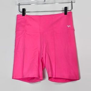 PINK Victoria's Secret Yoga Shorts Hot Pink Large